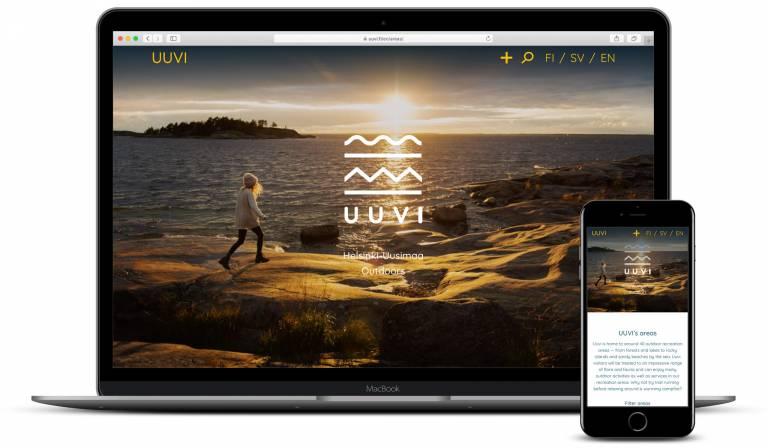 Screenshot uuvi.fi